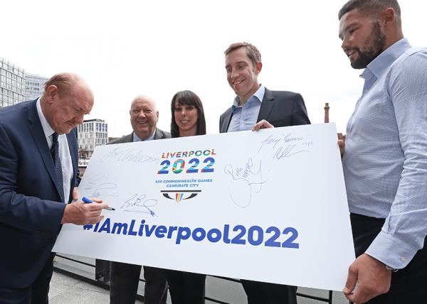 Liverpool Commonwealth Games BID Team