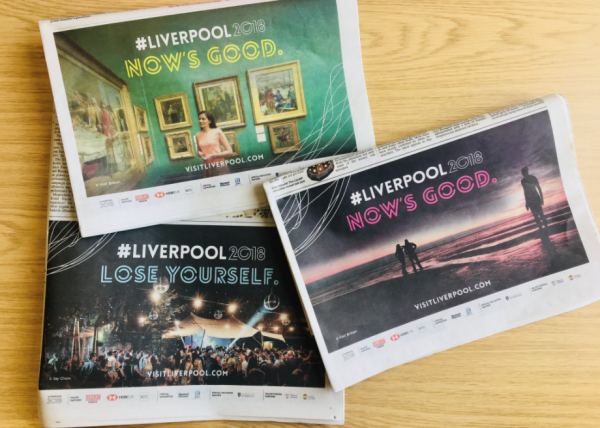 Liverpool 2018 National Advertising Campaign