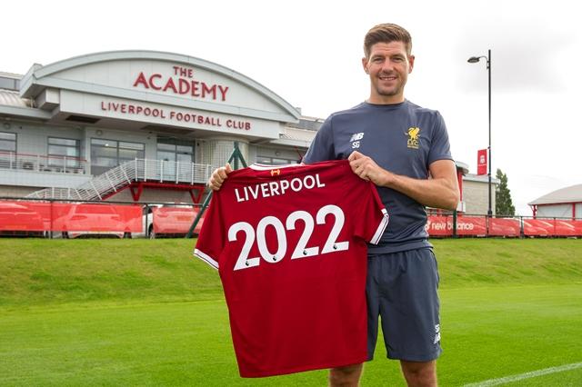 Steven Gerrard 2022