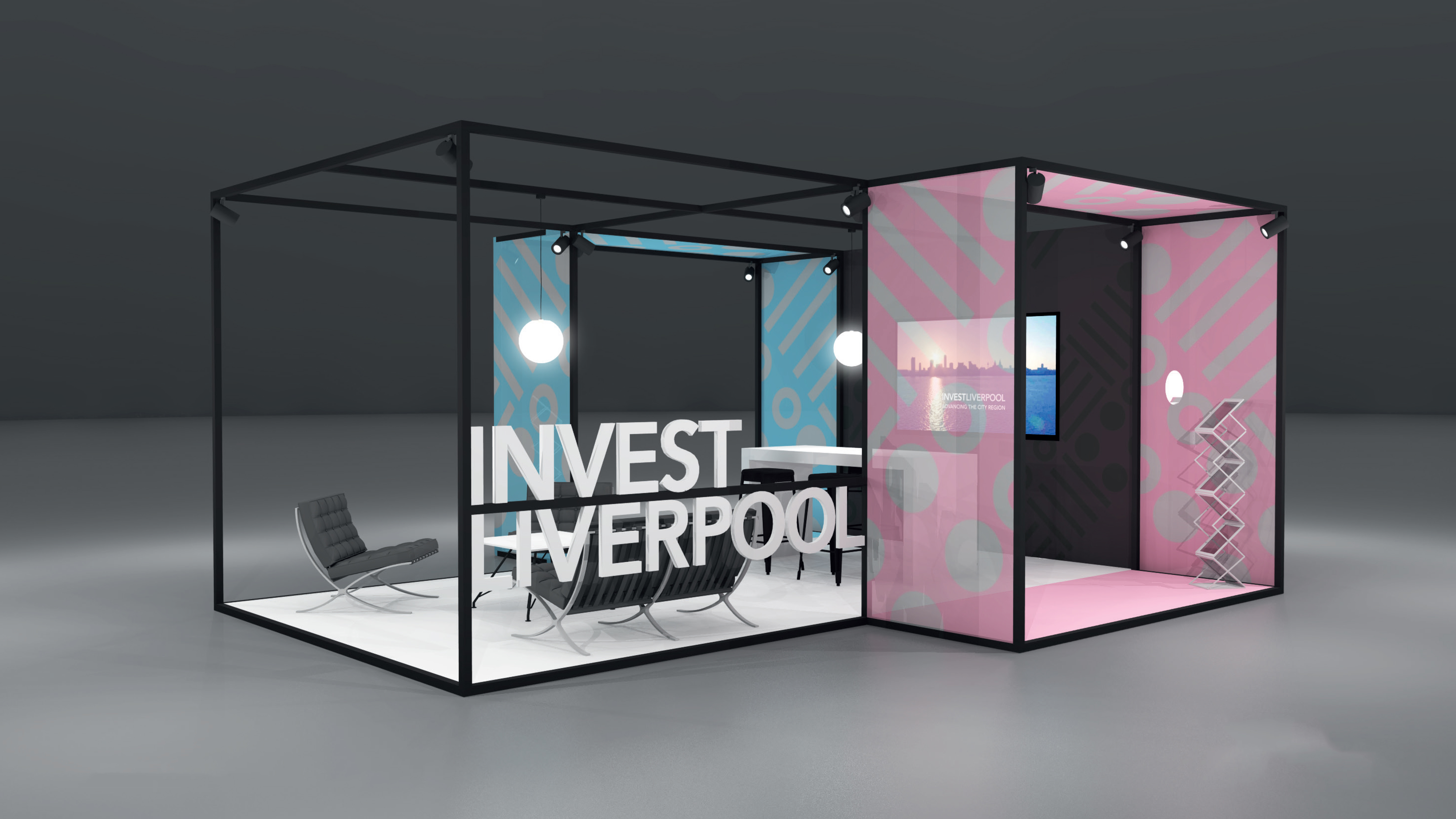 Marketing Exhibition Stand Zone : Marketing liverpool design invest liverpool stand at smart factory