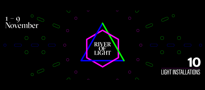 Graphics created for River of Light