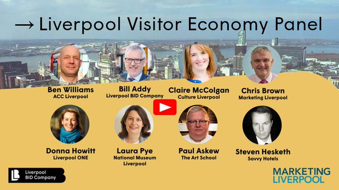 Marketing Liverpool And Liverpool Bid Company Host Visitor Economy Webinar Marketing Liverpool