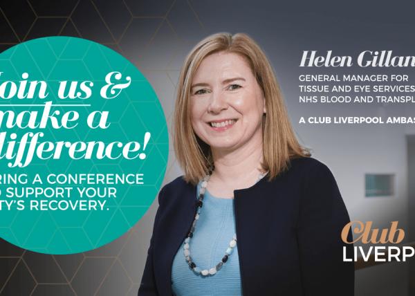 Ambassador, Helen Gillan a Club Liverpool Ambassador urges others to join the programme