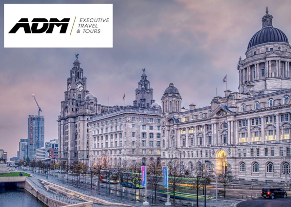 The Three Graces on Liverpool Waterfront